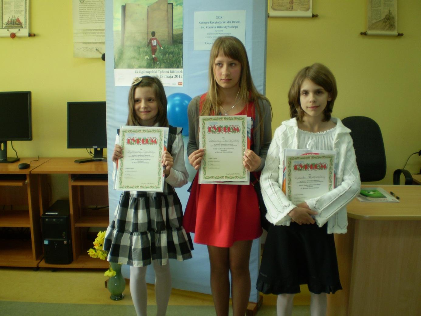 Konkurs recytatorski im. Kornela Makuszyńskiego