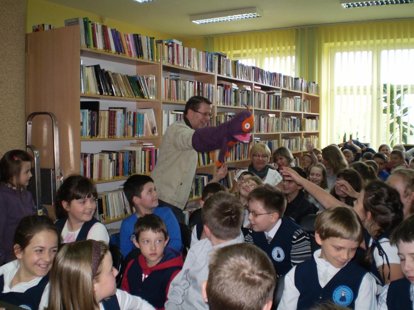 Spotkanie autorskie z Andrzejem Markiem Grabowskim